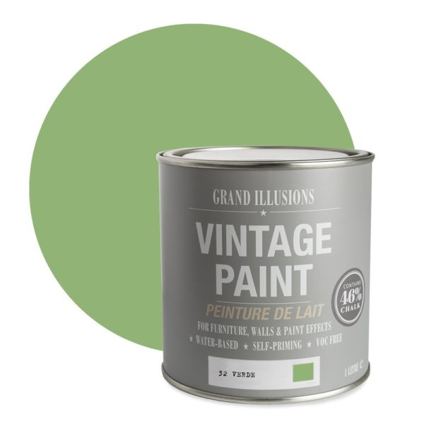 Verde Vintage Chalk Paint No. 32 - 1L