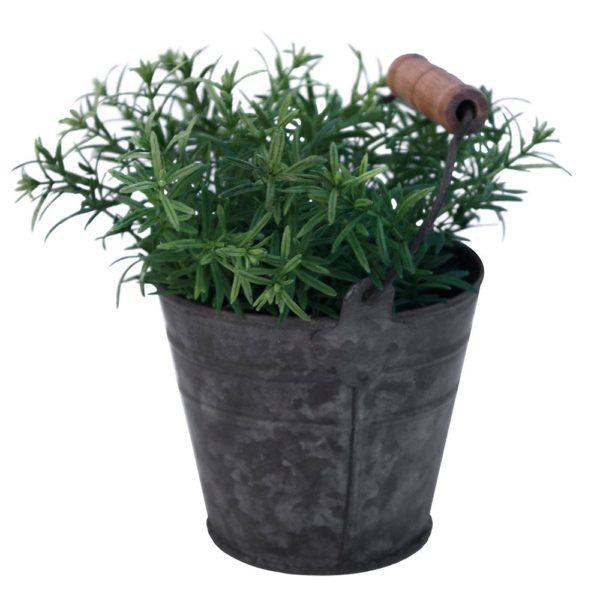 Zinc Mini Bucket 10x9cm