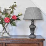 Table Lamp Olivia Stonewash Grey