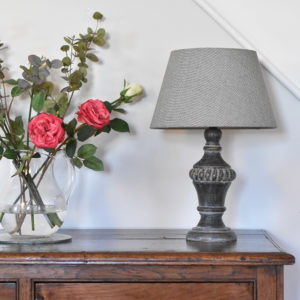 Table Lamp Olivia Stonewash Grey
