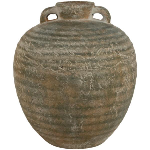Ribbed Jar Olea Large