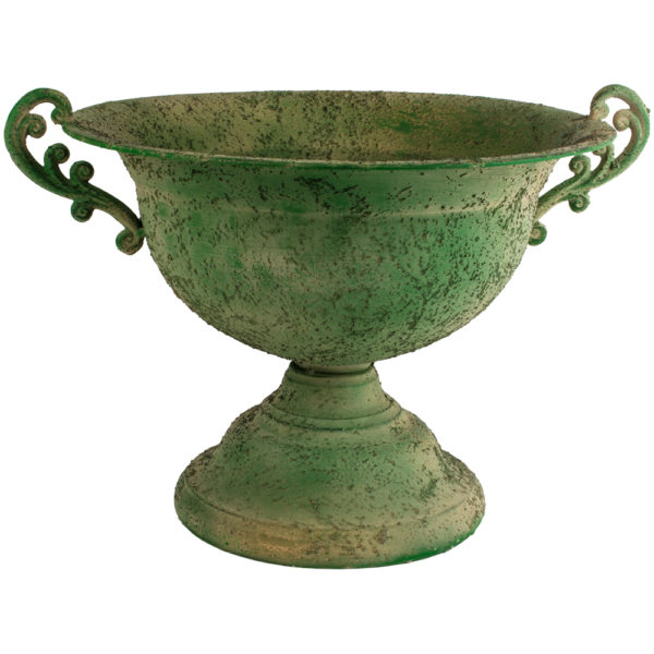Large Metal Urn